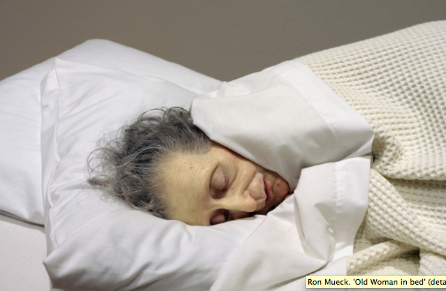 Ron Mueck, 'Old Woman in bed', (detail) 2002