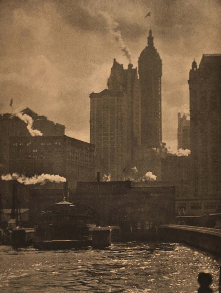 Alfred Stieglitz 'City of ambition', 1911, photogravure, 33.9 x 26.0