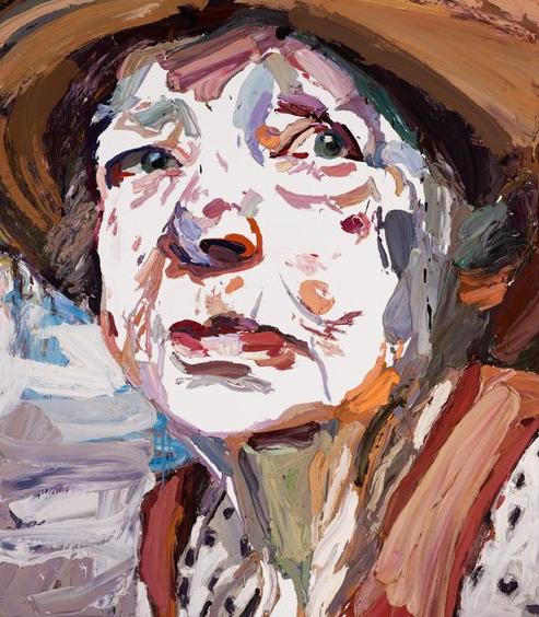 Ben Quilty, Margaret Olley, oil on linen, 170 x 150cm