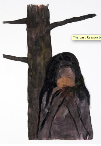 Enrique Martínez Celaya The Last Reason, 2011 watercolour on paper 38 x 26.5 inch / 96.52 x 67.31 cm