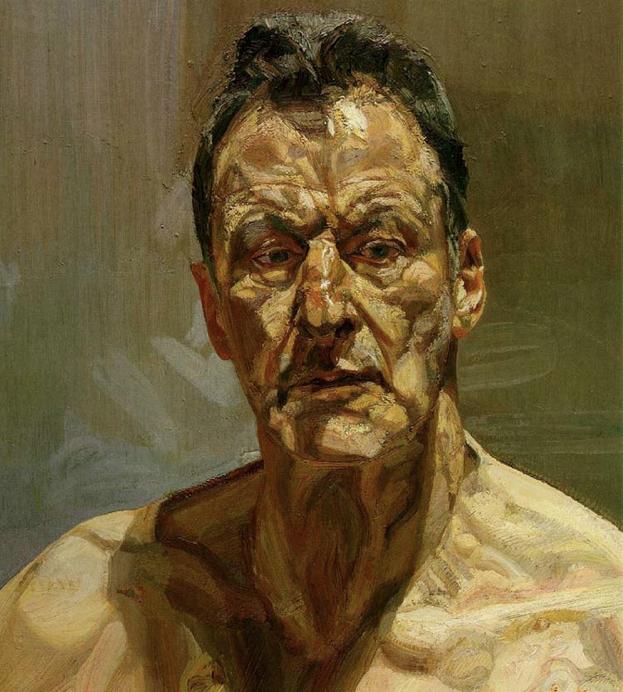 Lucien Freud, Reflection (Self Portrait)