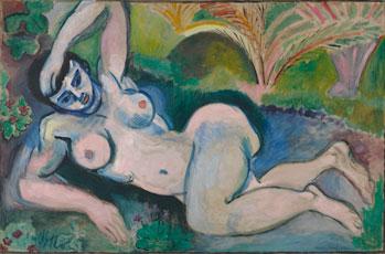 Henri Matisse, Blue Nude Memory of Biskra