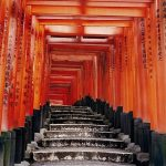 Claudia Terstappen, Fushimi-inari-taisha, 2004, C-print, mounted on aluminium, face mounted on perspex