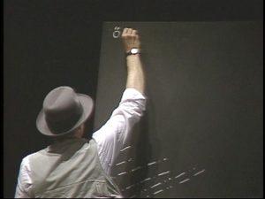 Joseph Beuys Coyote III, Videostill, 1984 © VG Bild-Kunst