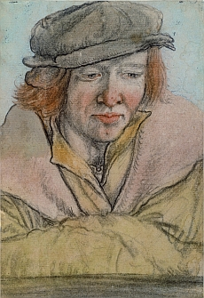 Leonhard Beck, Portrait of a Young Man with a Hat, ca. 1512/13