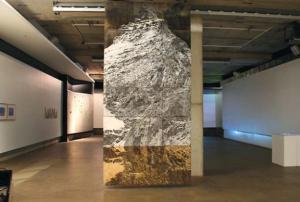 Joe Felber, Spiegel im Spiegel, Graphite on plywood