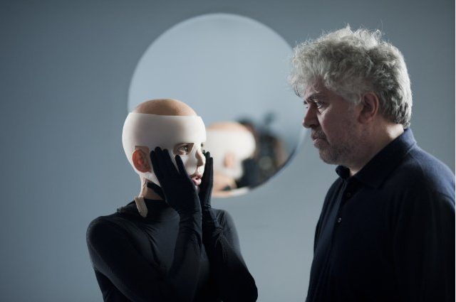 Pedro Almodóvar and Elena Anaya, The Skin I Live In