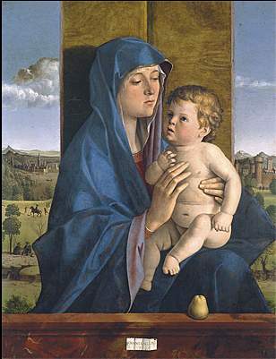 Giovanni BELLINI, Madonna and Child (Alzano Madonna), c.1488
