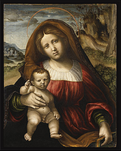 Nicola GIOLFINO, Madonna and Child, c.1530-35