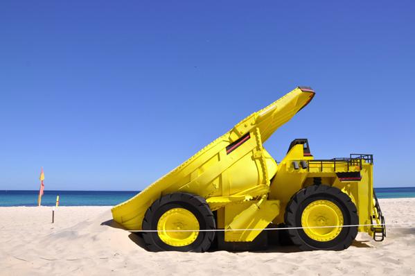 Paul Caporn, dump, Cottesloe 2012