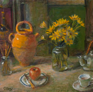 Margaret Olley, Chrysanthemums, 2011