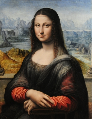 Conservators at the Museo del Prado in Madrid recently discovered that this copy of the Mona Lisa was painted by a pupil working alongside Leonardo da Vinci.