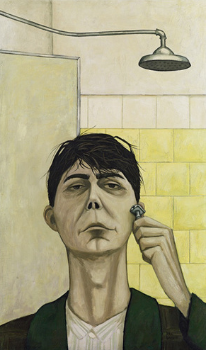 John Brack, Self-portrait, 1955