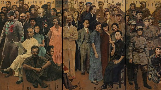 Shen Jiawei, Shen's Brothers and Sisters Part 1: Revolution (2010-2012), features 128 figures