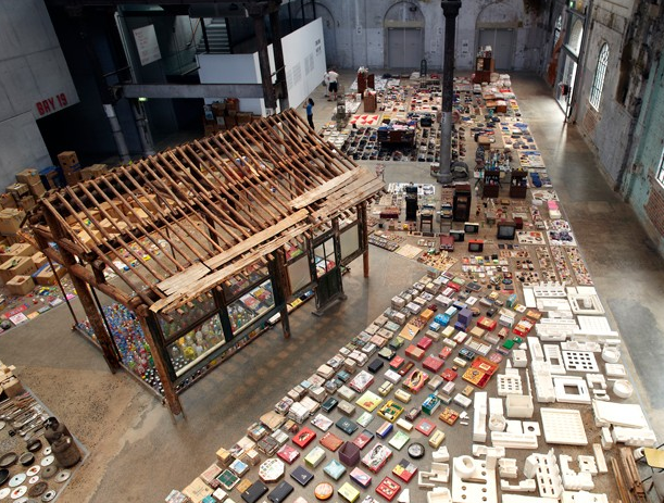Song Dong, Waste Not (detail), 2013, Installation at Carriageworks