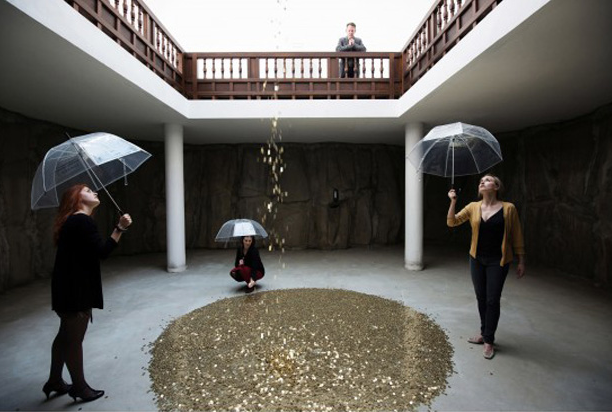 Vadim Zakharov, Danaë, Installation view, Russian Pavilion