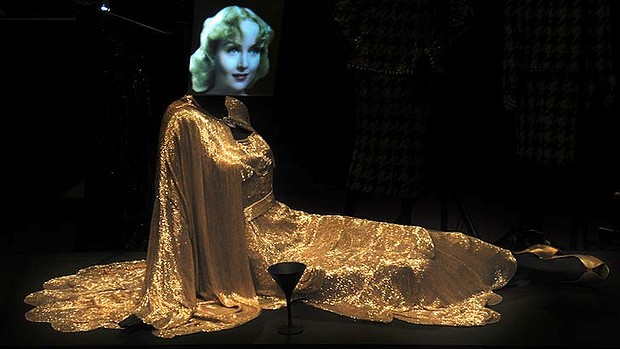 A costume worn by Carole Lombard in My Man Godfrey, 1936