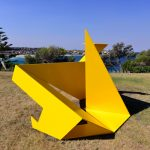 Ayako Saito, Grove, Sculpture by the Sea, Bondi 2013. Photo by Clyde Yee.
