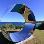 Silvia Tuccimei, Passage secret, Sculpture by the Sea, Bondi 2013. Photo by Clyde Yee.