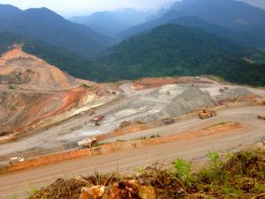 Mining in Phu Kam
