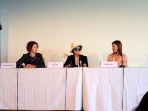 Yoko Ono's press conference, MCA