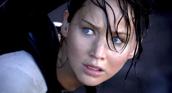Jennifer Lawrence in 'The Hunger Games: Catching fire' 2013