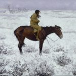 Frederic Remington, 1905, The herd boy