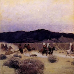 Newell Wyeth, 1908, Moving Camp