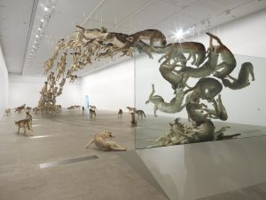 Cai Guo-Qiang, Head On, 2006, installation view QAGOMA, 2013