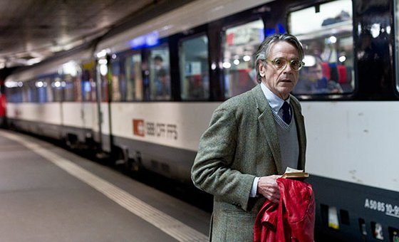Jeremy Irons in 'Night Train To Lisbon'.