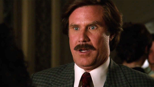 Will Ferrell in 'Anchorman 2: The Legend Continues' 2013