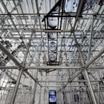 Christian Boltanski's 'Chance' inside the French Pavillon at the Venice Biennale, 2011