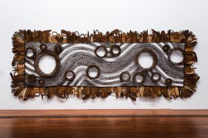 An O'possum-skin cloak: Blackfella road (2011‒13) by Lorraine Connelly-Northey, an artist with a mixed Indigenous and Irish background