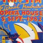 Martin Sharp, Tiny Tim Eternal Troubadore, Sydney Opera House, 1982