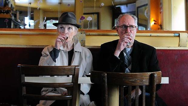 Lindsay Duncan & Jim Broadbent in 'Le Weekend' 2013