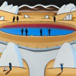 Roger Brown, 'Desert Crater', 1971