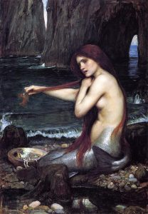 """A Mermaid"" by John Waterhouse."