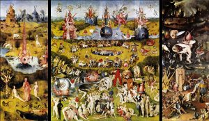 Hieronymous Bosch, 'The Garden of Earthy Delights'