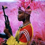 Richard Mosse, Still from The Enclave (detail), 2012–13, 16mm infrared film transferred to HD video, 39:25 mins. Courtesy: The artist and Jack Shainman Gallery.
