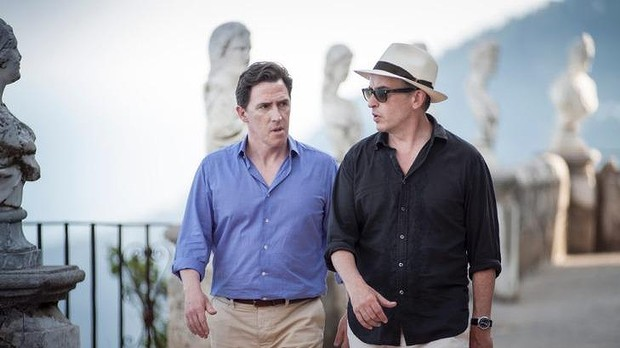 Rob Brydon & Steve Coogan in 'The Trip to Italy' (2014)