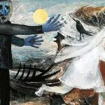 Arthur Boyd, 'Bride running away' (1957)