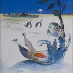 Arthur Boyd, 'Jonah on the Shoalhaven – Outside the city', (1976)