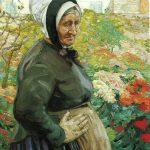 Hilda Rix Nicholas, 'Grand mere' (c. 1914)
