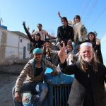 George Gittoes, 65, moved to Jalalabad in Afghanistan three years ago to create an arts collective known as the Yellow House