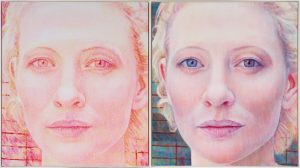 Tim Maguire, 'Cate, take 1 / Cate, take 2'