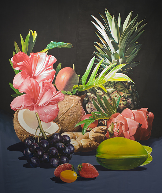 Shirana Shahbazi, Still life: Coconut and other things, (2009)