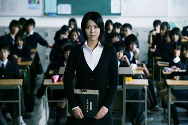 """Takako Matsu in a scene from """"Confessions""""  (2010)"""