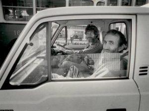 Frank Watters and Geoffrey Legge, c.1974. Photograph Gerrit Fokkema, courtesy Watters Gallery