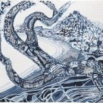 Joshua Yeldham, 'In Search of Light - Pittwater', carved paper with shellac, 100 x 120 cm
