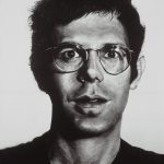Chuck Close, Bob, (1969–70), acrylic on gessoed canvas, National Gallery of Australia, Canberra. Purchased 1975 © Chuck Close, courtesy Pace Gallery